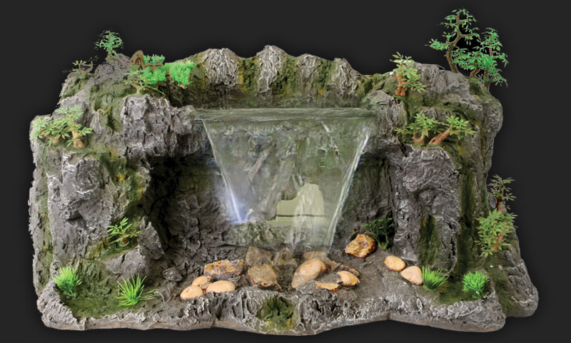 design elements lost world waterfall pure pure